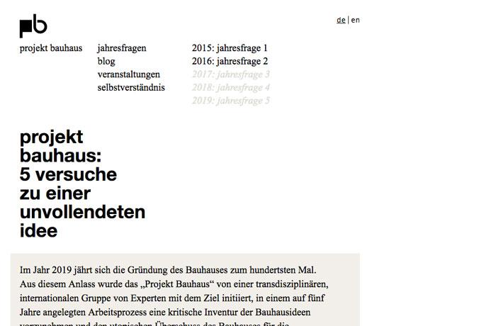 Projekt Bauhaus